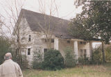 Front of a house at the southeast corner of Highway 79 and U.S. Highway 278 in Brooksville,...