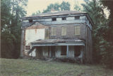 Rear (western) elevation of Elm Bluff (Crocheron house) at Elm Bluff Landing in Sardis, Alabama.