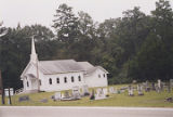 Belleville Methodist Church on the south side U.S. Highway 84 in the historic area of Belleville,...