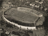 Aerial view of Denny Stadium at the University of Alabama.