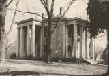 General view of two elevations of the Octagon House (Lane-Gordon house) in Athens, Alabama.