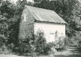 Outbuilding of Preuit Oaks on Cottontown Road in Leighton, Alabama.