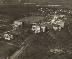 Aerial view of an unidentified campus in Alabama.
