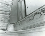 Detail (looking up stairwell) at Elm Bluff (Crocheron house) at Elm Bluff Landing in Sardis,...