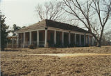 General view of the front of Eden (Boykin plantation house) in Tilden, Alabama.