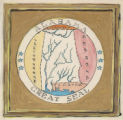 Painting of the Great Seal of Alabama.
