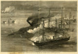 """Farragut's Victory in Mobile Bay - The Capture of the Rebel Ram 'Tennessee.'"""