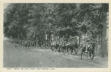 """Ohio Troops on Hike Near Montgomery, Ala."""
