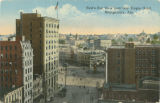"""Bird's Eye View from Gay Teague Hotel, Montgomery, Ala."""