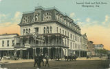 """Imperial Hotel and Bibb Street, Montgomery, Ala."""