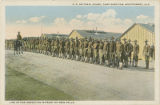 """Line Up for Inspection in Front of Mess Halls."""