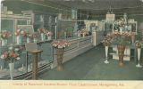"""Interior of Rosemont Gardens Modern Floral Establishment, Montgomery, Ala."""