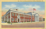 """New City Hall and Auditorium Building, Montgomery, Ala."""