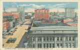 """Commerce Street Looking Toward Court Square, Montgomery, Ala."""