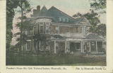 """President's Home Ala. Girls Technical Institute, Montevallo, Ala."""