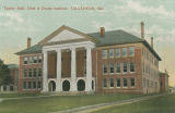 """Taylor Hall, Deaf and Dumb Institute, Talladega, Ala."""