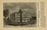 """Old Capitol Building at Tuscaloosa (Erected 1826)."""