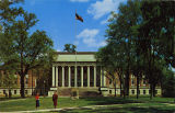 """Amelia Gayle Gorgas Library on the Quadrangle of the University of Alabama, Tuscaloosa,..."