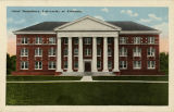"""Girls' Dormitory, University of Alabama."""