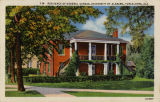 """Residence of General Gorgas, University of Alabama, Tuscaloosa, Ala."""