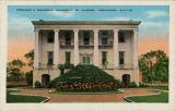 """President's Residence, University of Alabama, Tuscaloosa, Ala."""