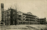 """University of Alabama, Woods Hall (Barracks)."""