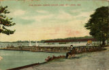 """The Wharf, Creve Coeur Lake, St. Louis, Mo."""