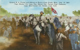 """General N. B. Forrest and Officers at Brice's Cross Roads, Miss., June 10, 1864. Capt...."