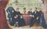 """President Lincoln and Family in the White House."""