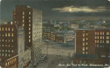 """Bird's Eye View by Night, Montgomery, Ala."""