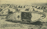 """A flock of fighting English Tanks ready for action with American Troops, France."""