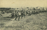 """A German Charge, Fixed Bayonets, Photo taken from American Lines, France."""
