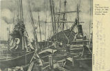 """The Great Storm of Sept. 27, 1906, wrecked vessel, Mobile, Ala."""