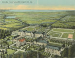 """Bird's Eye View of Spring Hill College, Mobile, Ala."""