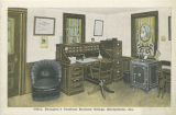 """Office, Draughon's Practical Business College, Montgomery, Ala."""