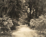 Entrance to Bellingrath Gardens near Mobile, Alabama.
