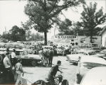 George Wallace giving a speech in Clay County, Alabama, during the 1962 gubernatorial campaign.