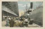 """Shipping Cotton at Mobile, Ala."""