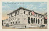 """New Post Office, St. Joseph Street, Mobile, Ala."""