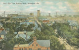 """Bird's Eye View, Looking North, Birmingham, Ala."""