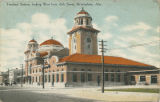 """Terminal Station, looking West from 26th Street, Birmingham, Ala."""