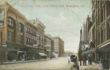 """3rd Avenue Street Scene, looking West, Birmingham, Ala."""
