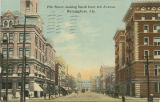 """19th Street, looking South from 4th Avenue, Birmingham, Ala."""