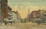 """19th St. from 1st Ave, Looking North, Birmingham, Ala."""