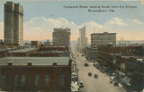 """Twentieth Street, looking South from 4th Avenue, Birmingham, Ala."""