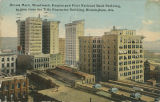 """Brown Marx, Woodward, Empire and First National Bank Building, as seen from the Title..."