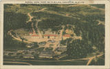 """Aerial View, Fort McClellan, Anniston, Ala."""