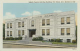 """DeKalb County Activities Building, Fort Payne, Ala., Erected in 1940."""