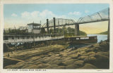 """City Wharf, Alabama River, Selma, Ala."""