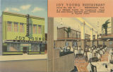 """Joy Young Restaurant, 412-14 No. 20th St. - Birmingham, Ala."""